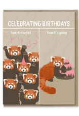 How It's Going Birthdays Greeting Card