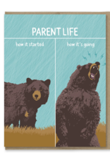 How It's Going Parent Life Greeting Card