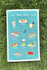 Iconic Rhode Island Foods Print