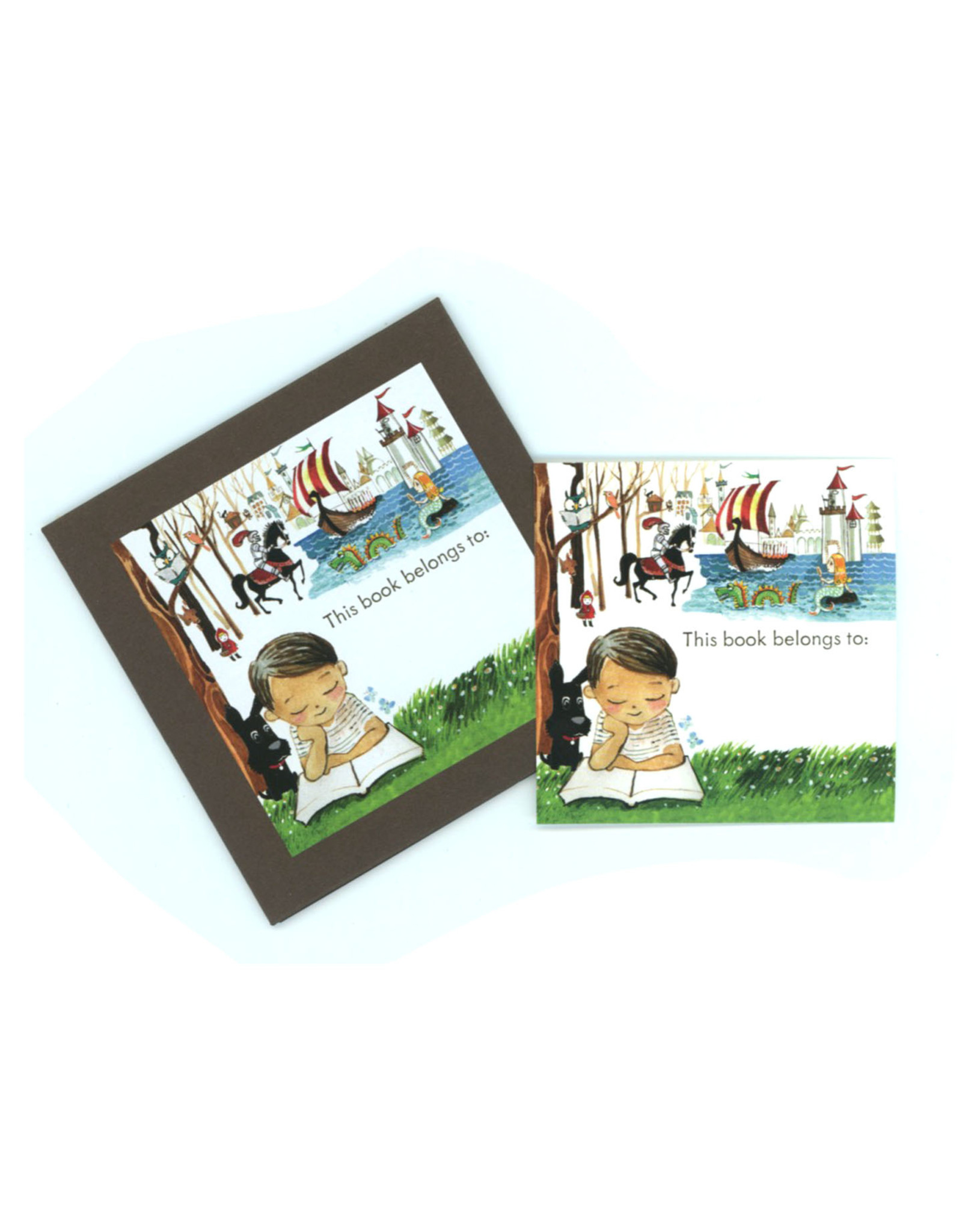 This Book Belongs To... Tags (Set of 18) - Boy