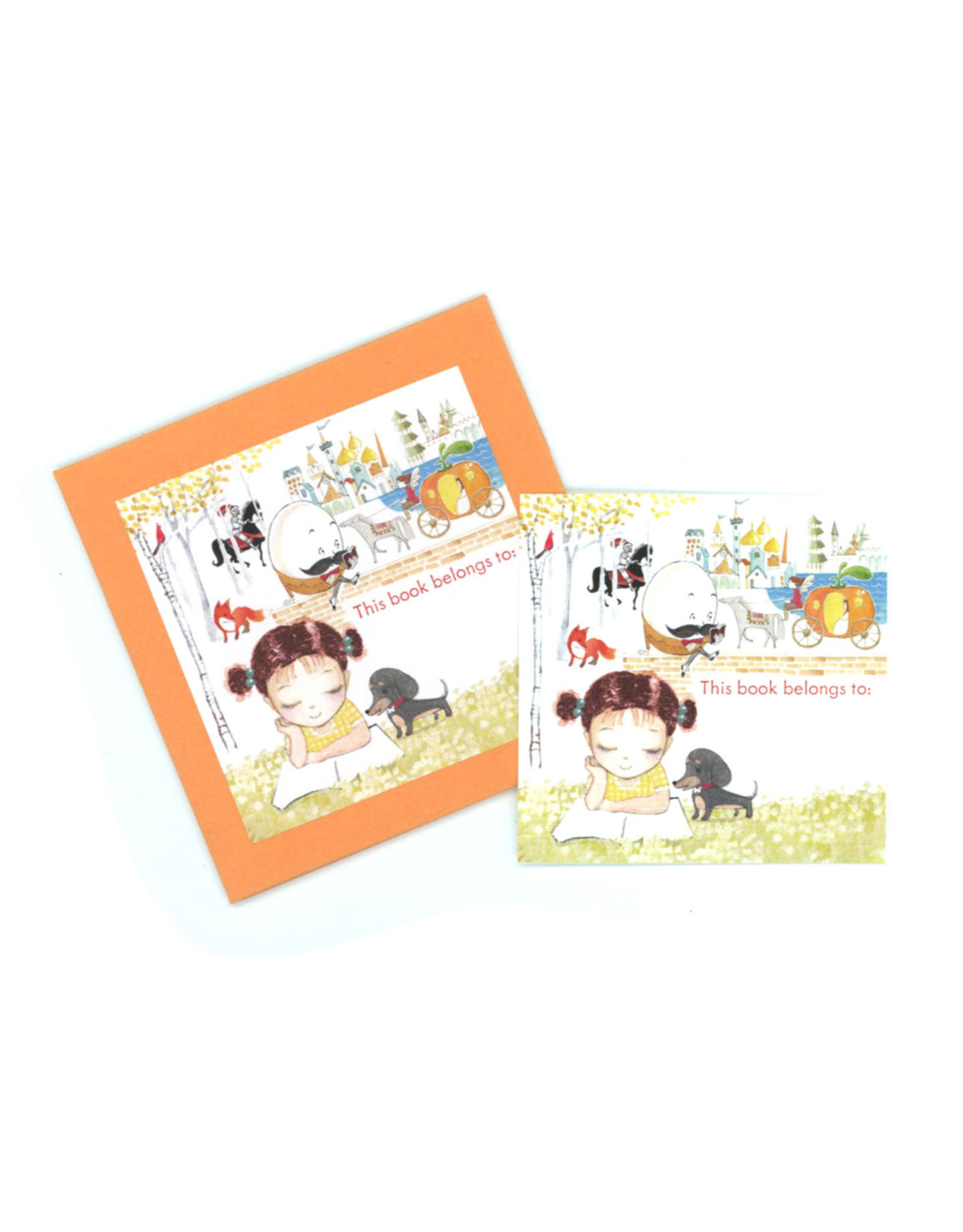This Book Belongs To... Tags (Set of 18) - Girl