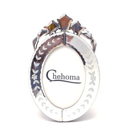 Venitian oval picture-frame