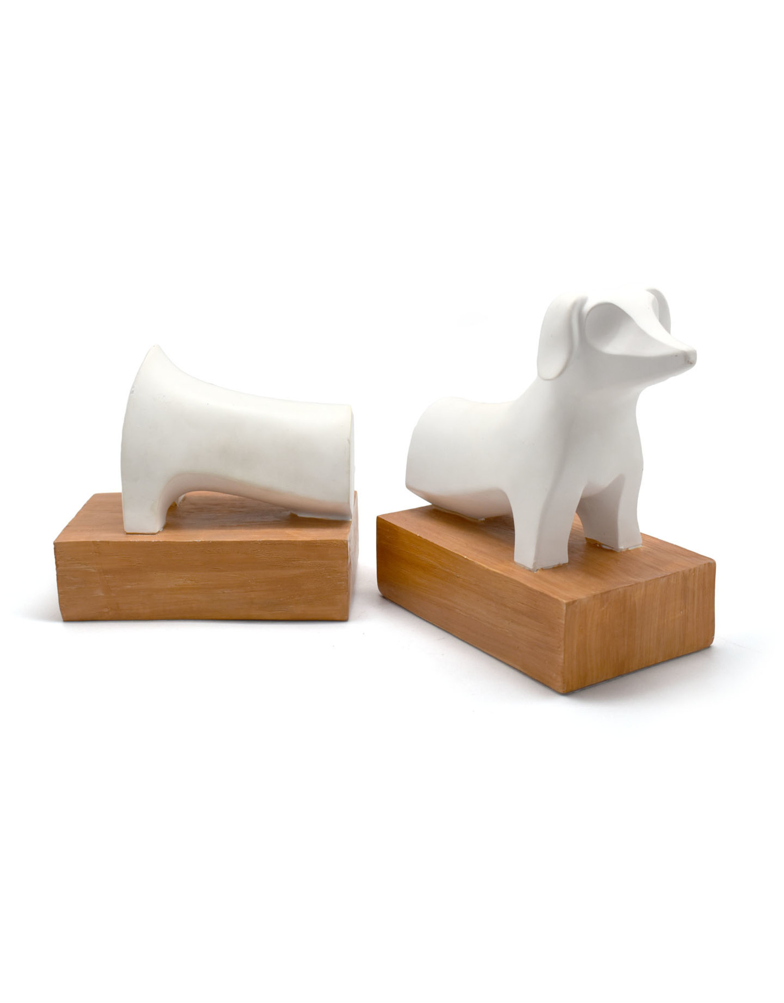 Resin Dog Bookends - Seconds Sale (Curbside Pick-up Only)