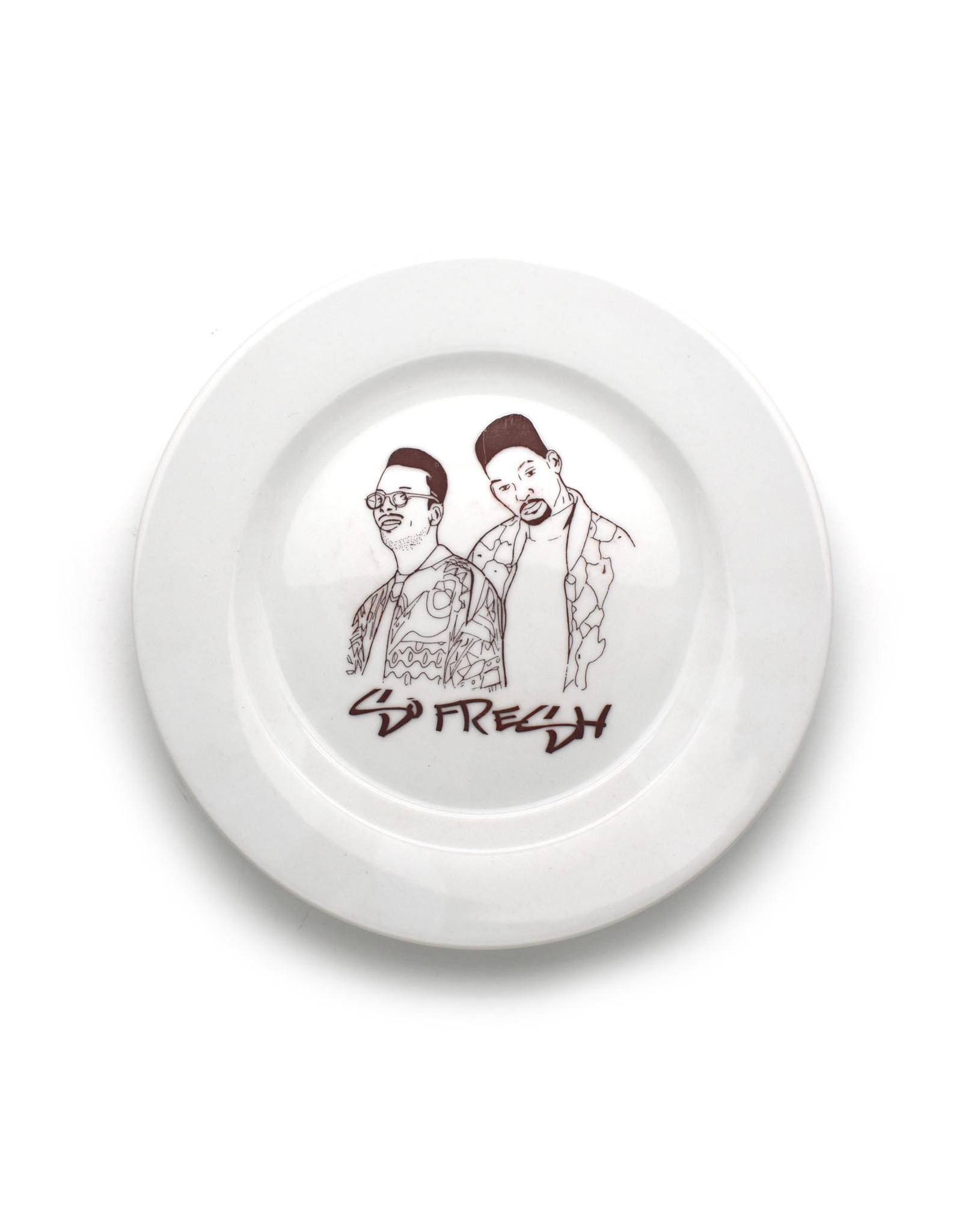 DJ Jazzy Jeff & The Fresh Prince Plate