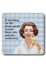 Drinking Outdoorsy Coaster