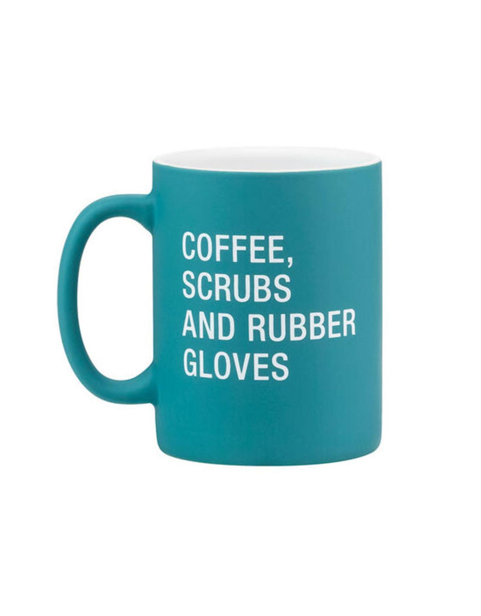 Coffee, Scrubs, Rubber Gloves Mug