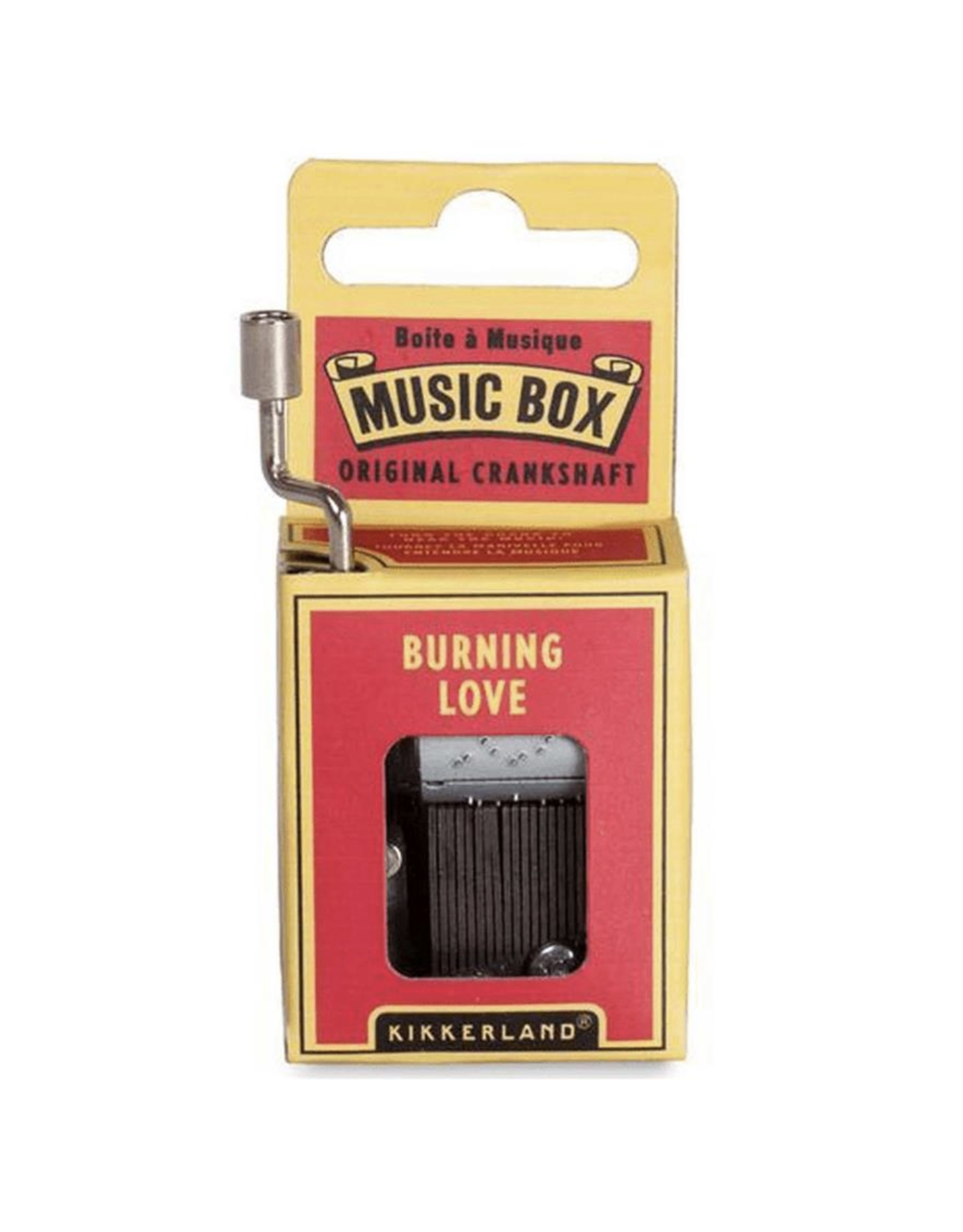 Burning Love Music Box