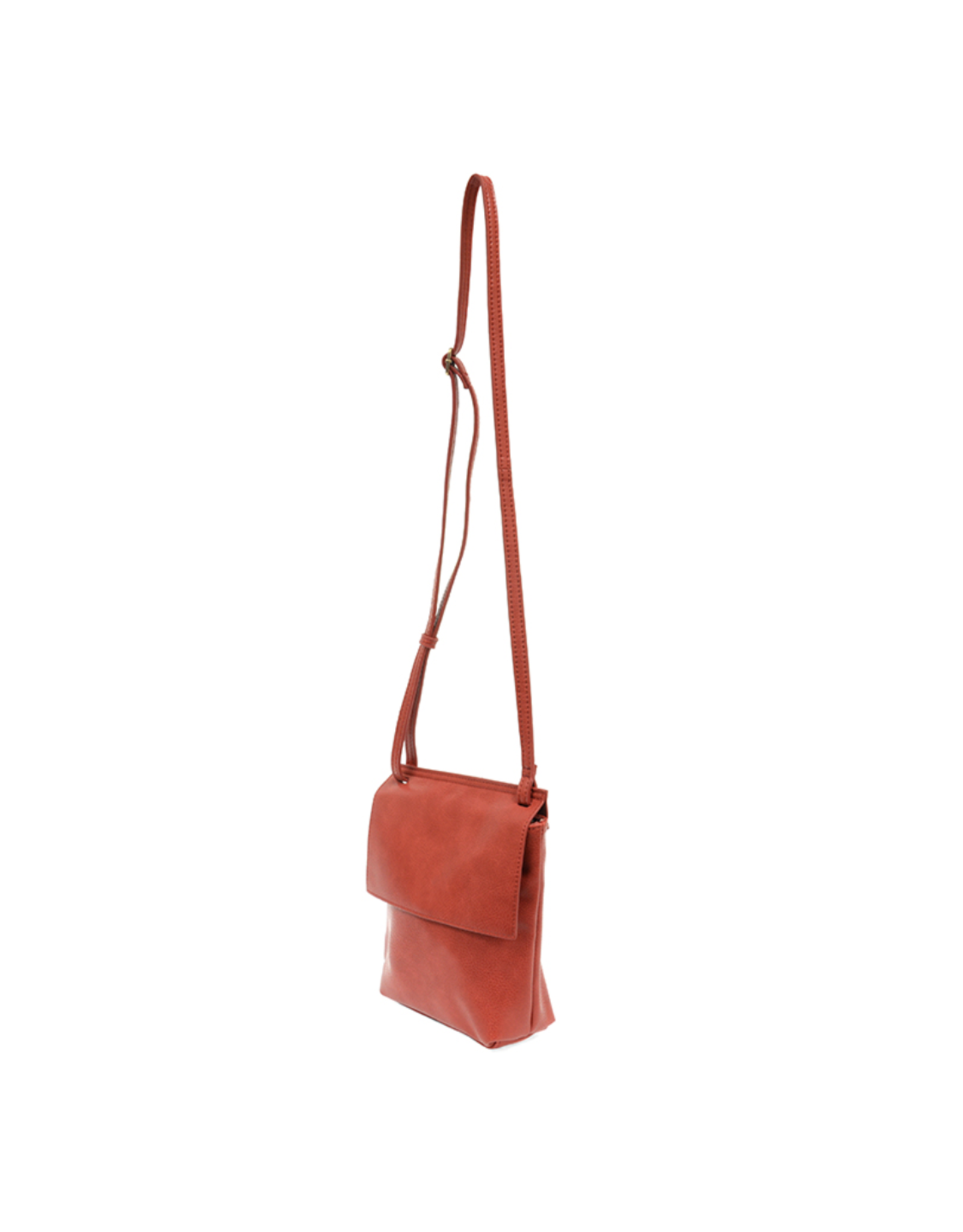 Aimee Front Flap Crossbody : Red