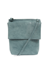 Aimee Front Flap Crossbody : Turquoise