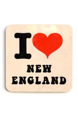 I Heart New England Coaster - Seconds Sale