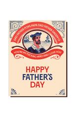 Dad Sailor Hero Greeting Card