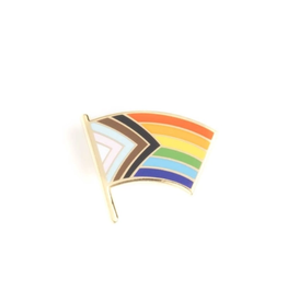 Progress Pride Flag Pin