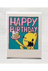 Cake Slice Birthday Greeting Card
