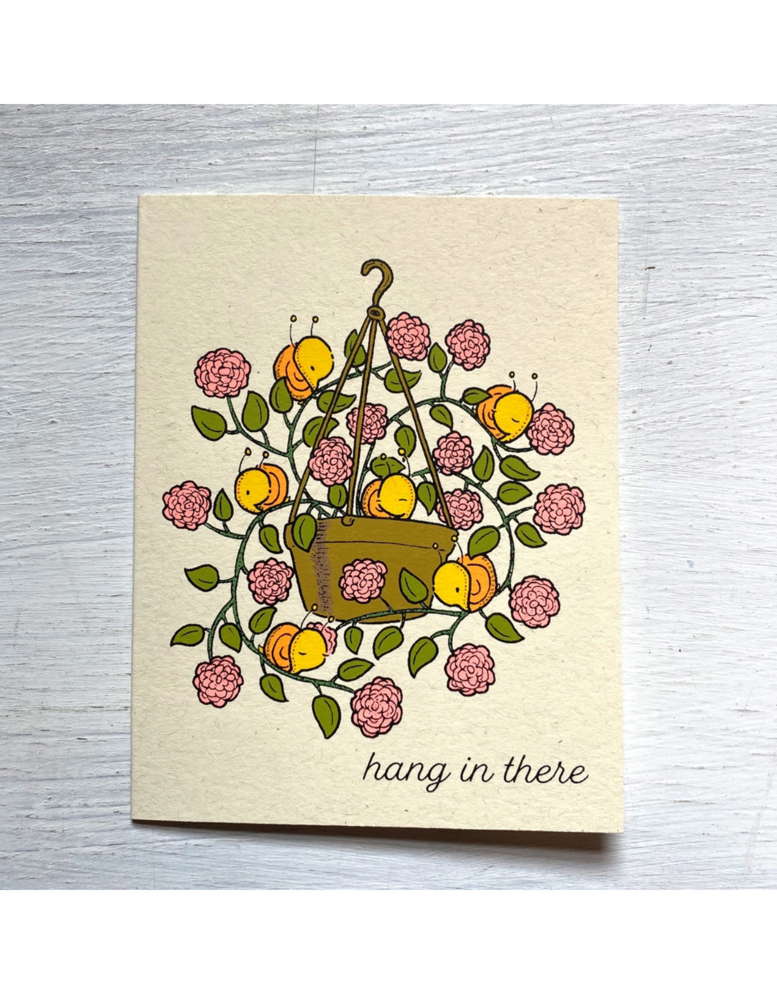Hang in There Planter Greeting Card