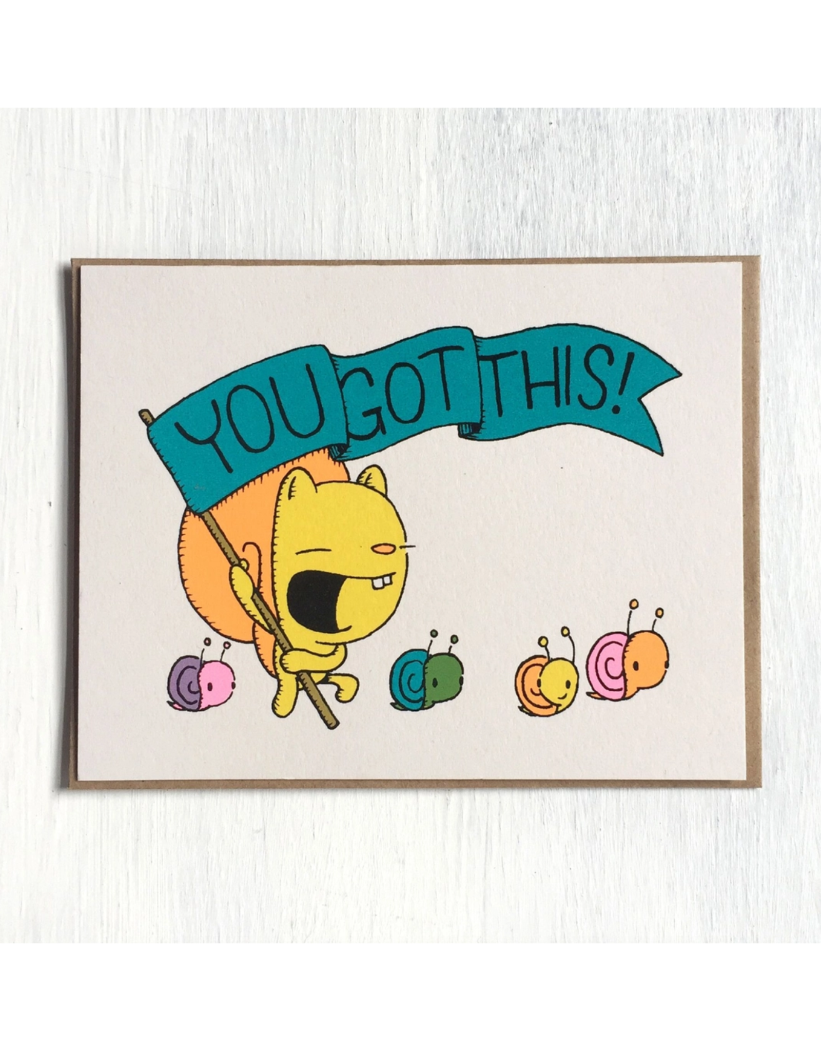 You Got This! Greeting Card