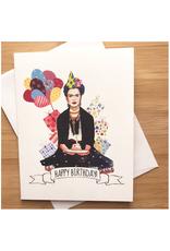 Happy Birthday Frida Greeting Card