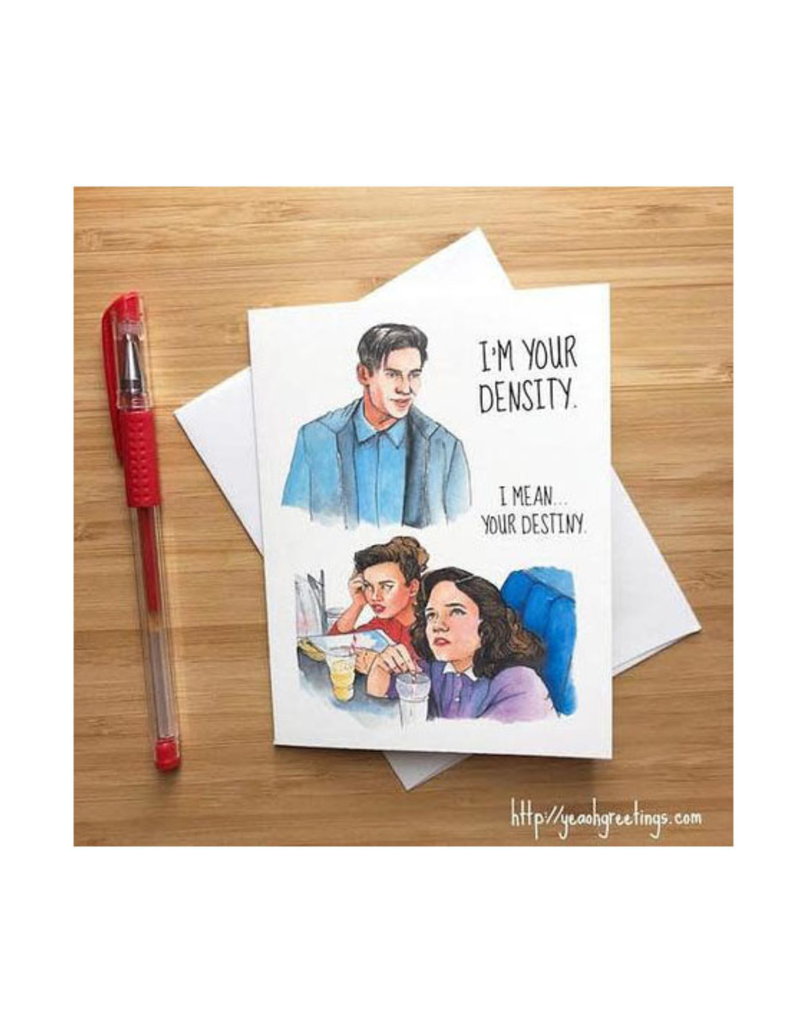 Back to the Future Destiny Greeting Card