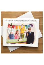 Downsized Age Birthday (The Office) Greeting Card