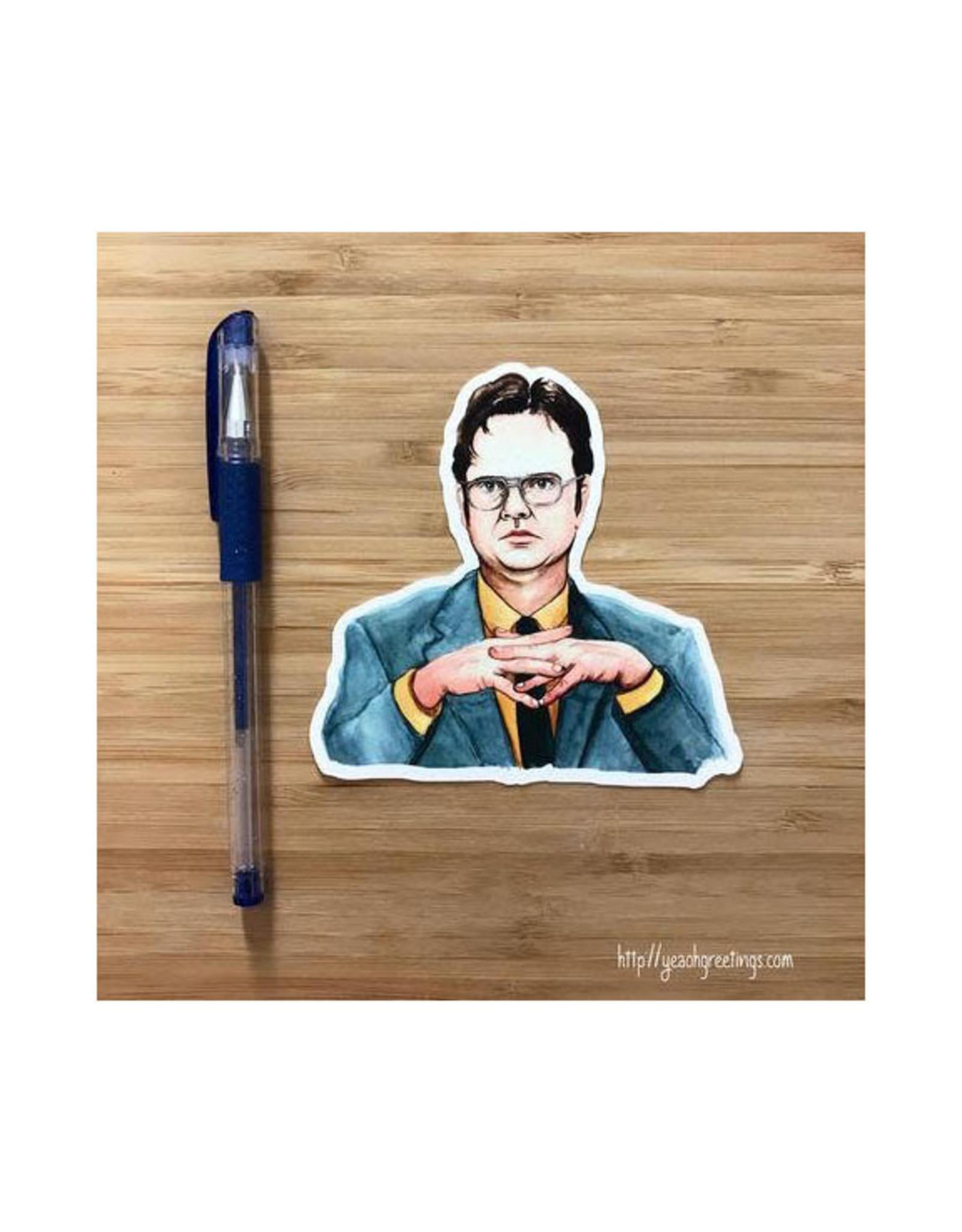 Dwight Schrute (The Office) Sticker
