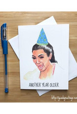 Kim Kardashian Birthday Greeting Card