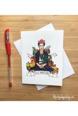 Feliz Navidad Frida Christmas Greeting Card