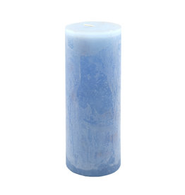 Timber Candle (Tall) - Crystal Blue