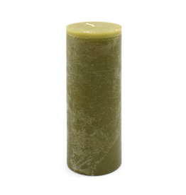 Timber Candle (Tall) - Moss