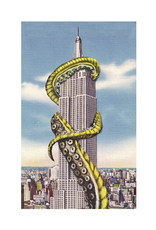 The Empire State Building Under Attack Print