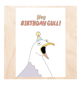 Hey Birthday Gull! Greeting Card
