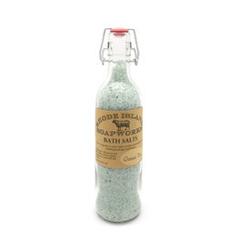 Bottled Bath Salts - Green Tea