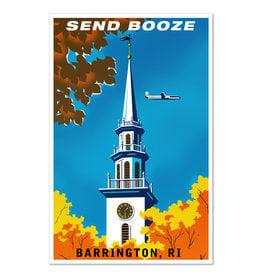 Send Booze Barrington Print