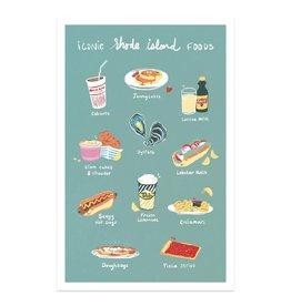 Iconic RI Foods Print