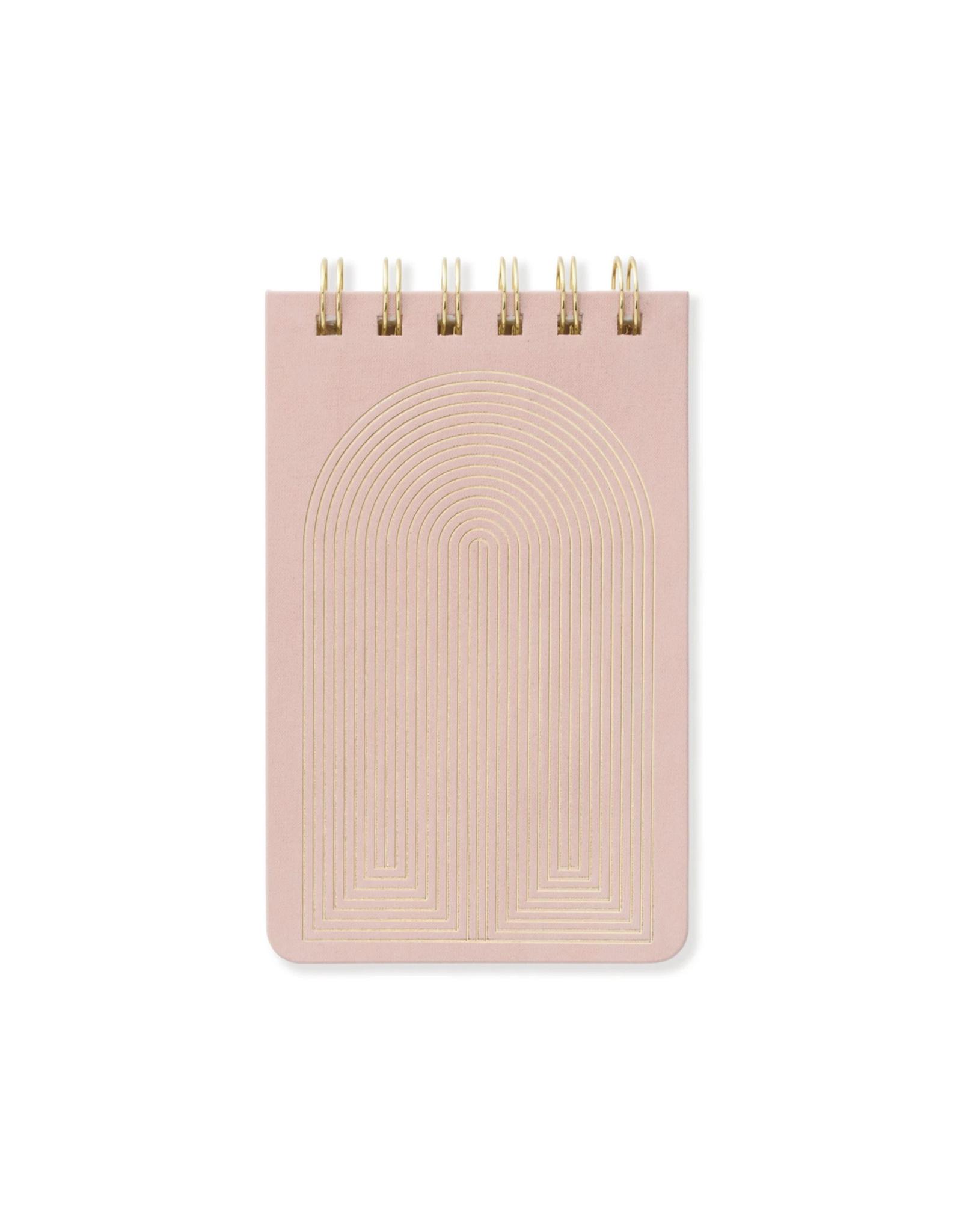 Dusty Blush Radiant Rainbow Notepad