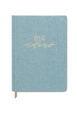 Big Ideas Seafoam Cloth Notebook