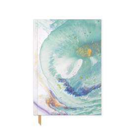 Teal Marbled Notebook