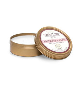 Travel Candle - Rosewood & Amber