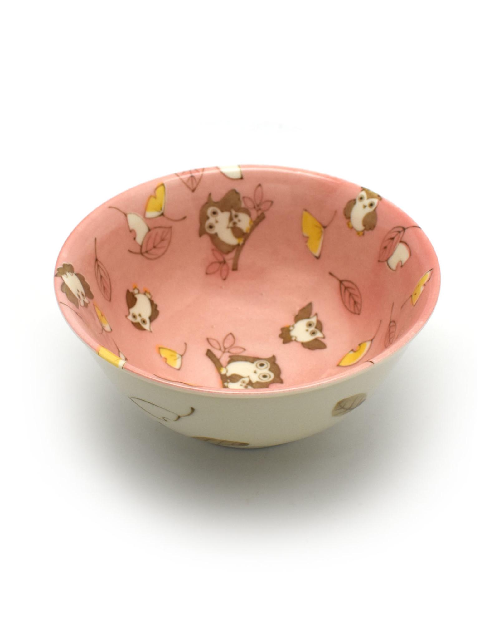 Blossom Forest Owl Bowl