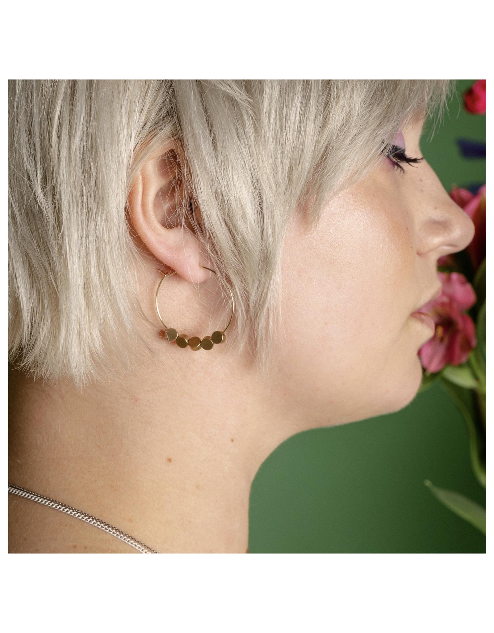 Greta Earrings - Circle