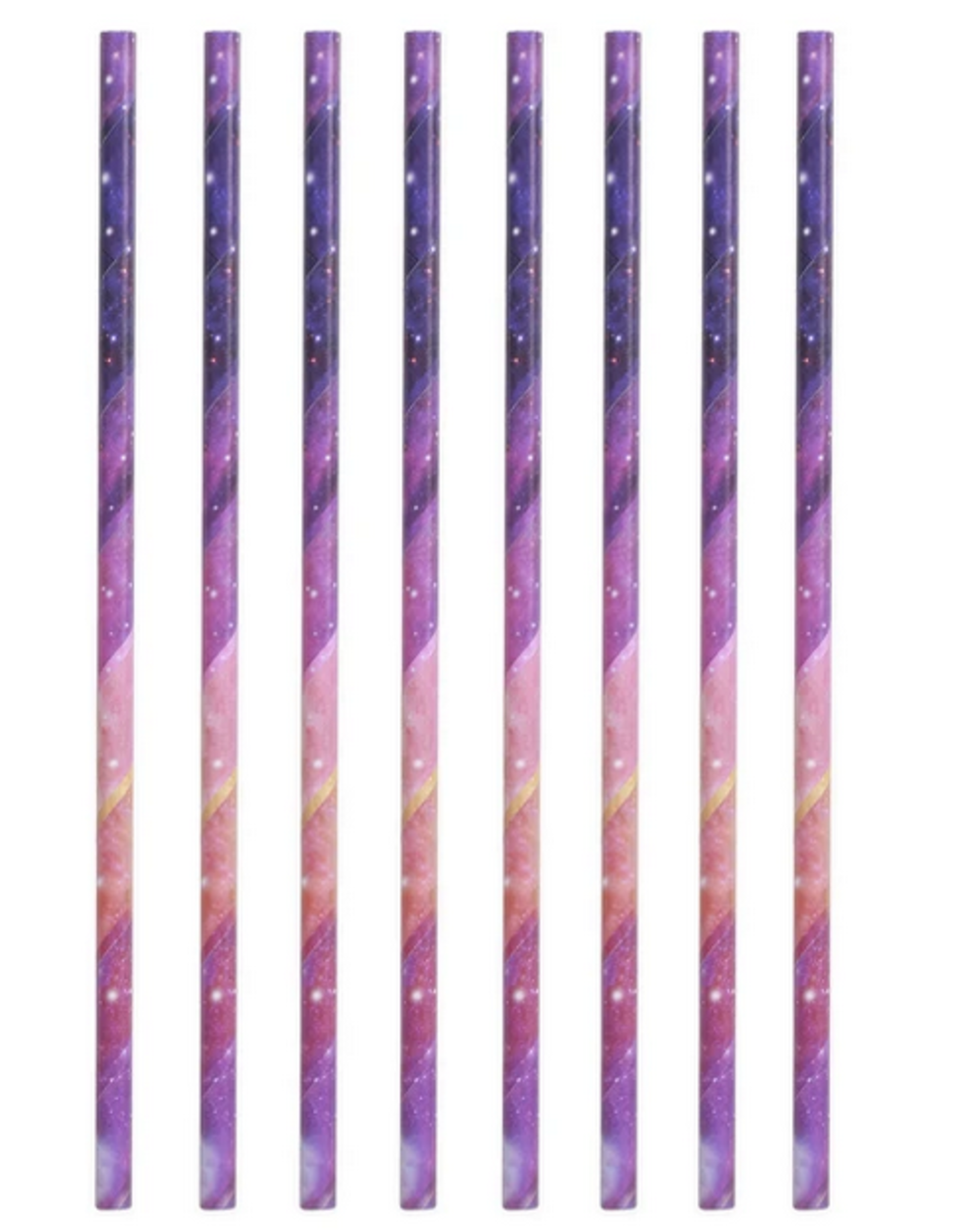 Galaxy Paper Straws