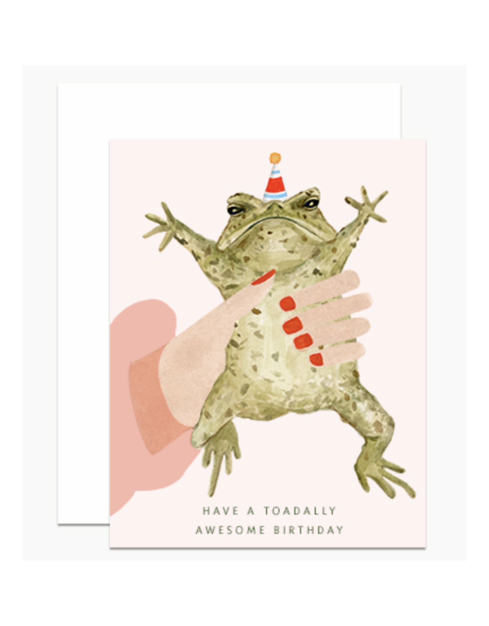 Have a Toadally Awesome Birthday Greeting Card