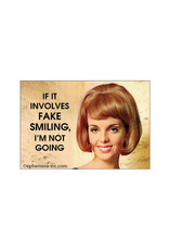 Fake Smiling Magnet
