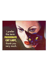 Passionate Cat Lady Magnet