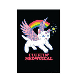 Fluffin' Meowgical (Cat Unicorn) Magnet