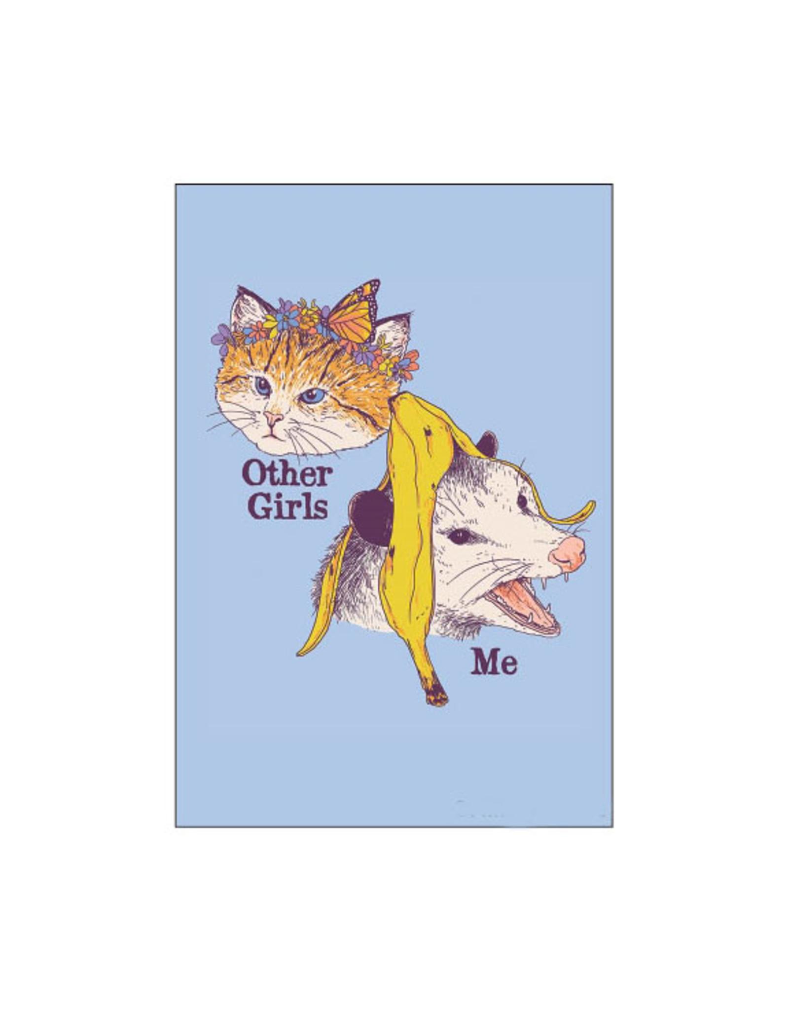 Other Girls, Me (Cat, Opossum) Magnet