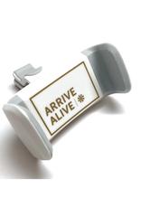 Phone Dash Accessory - White/Gold