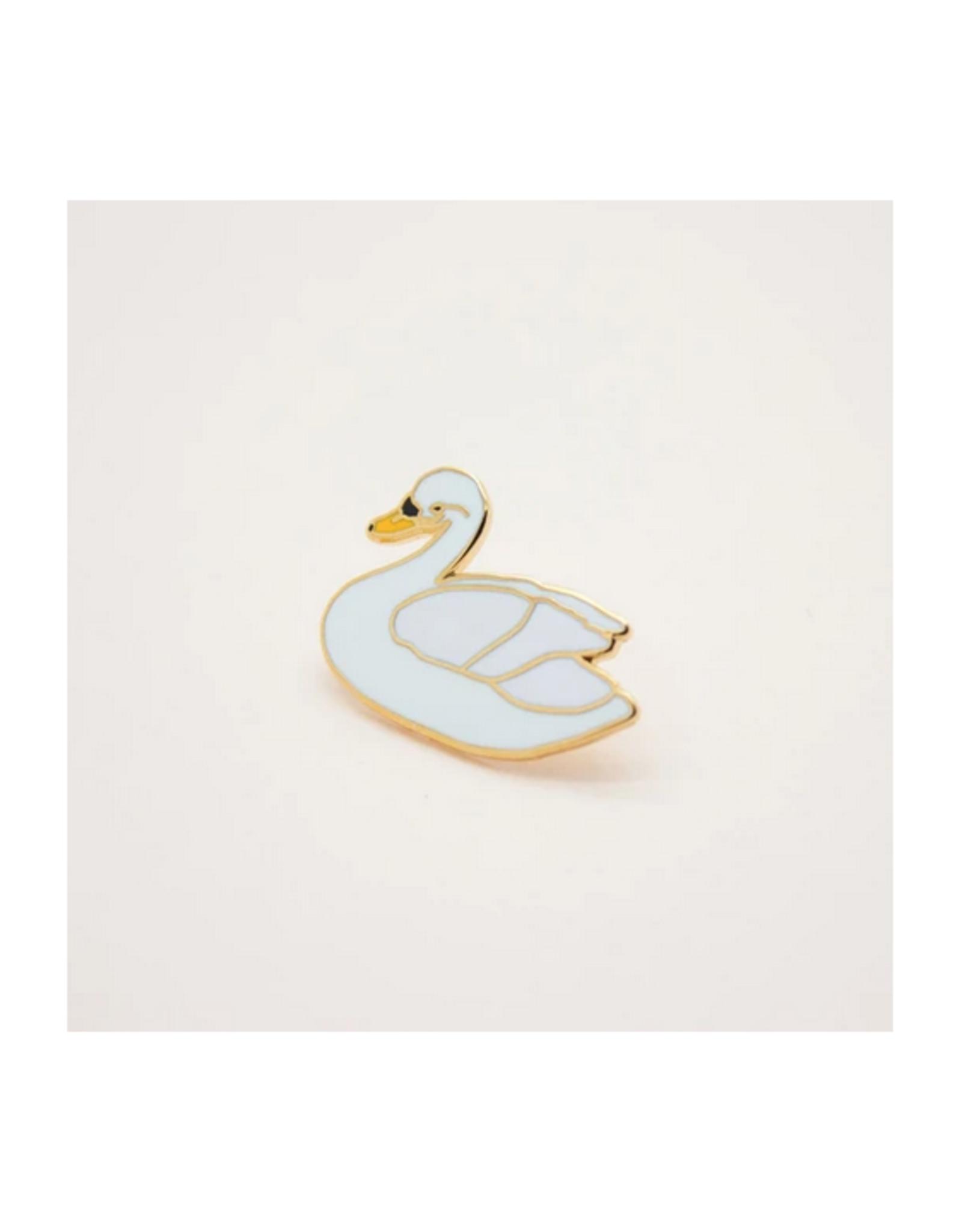 White Swan Pin
