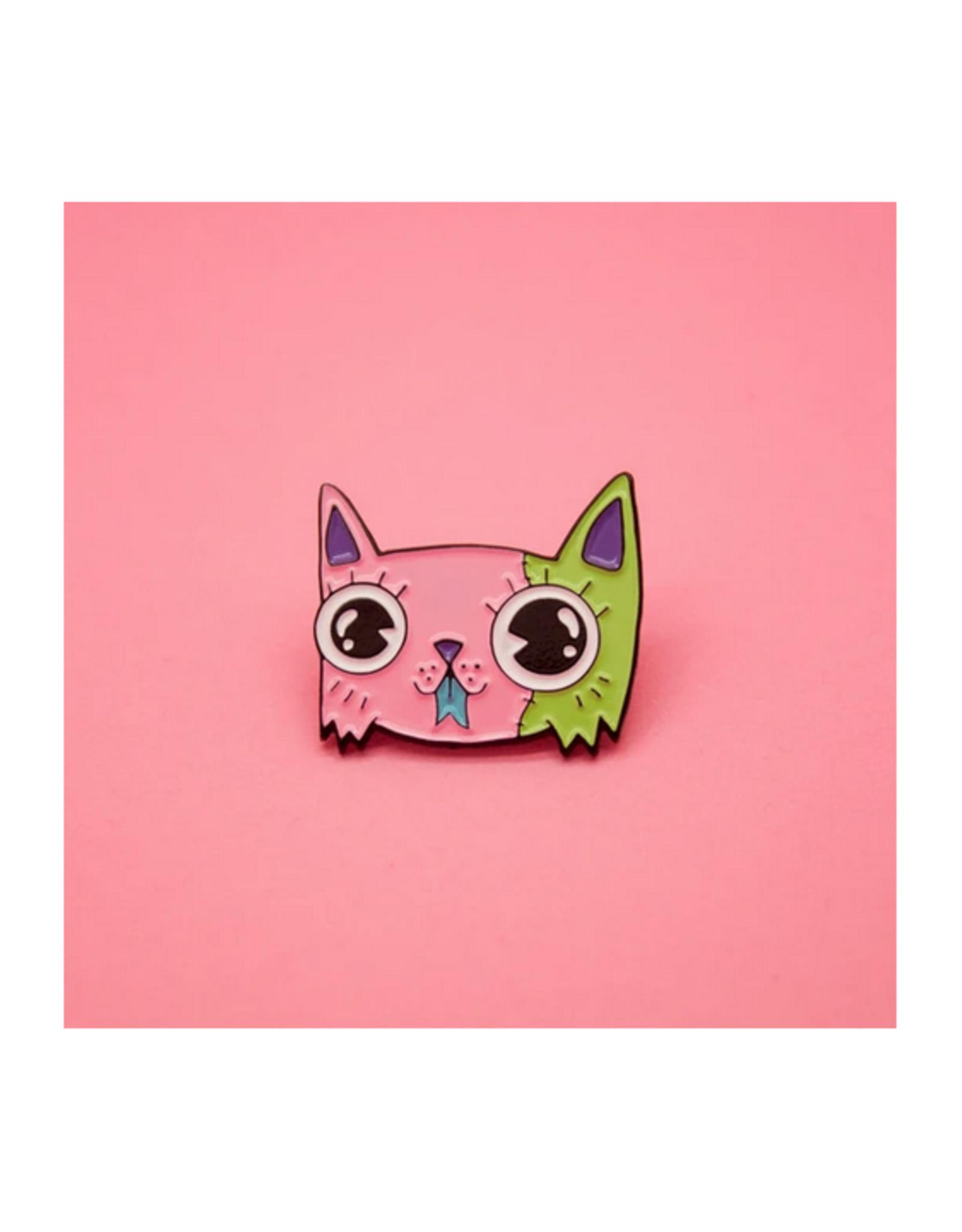 Monster Kitty Pin