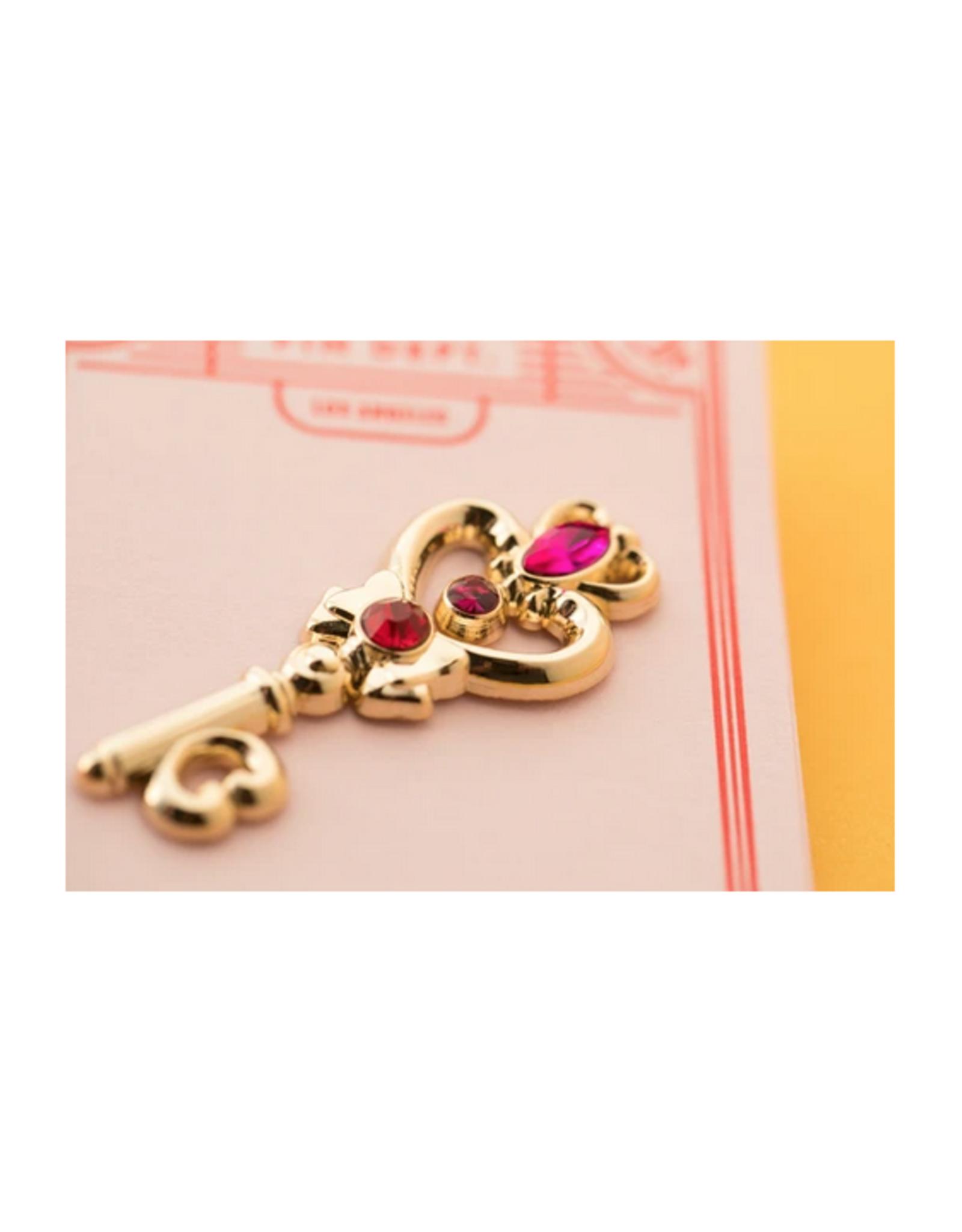 Jewelled Key Pin