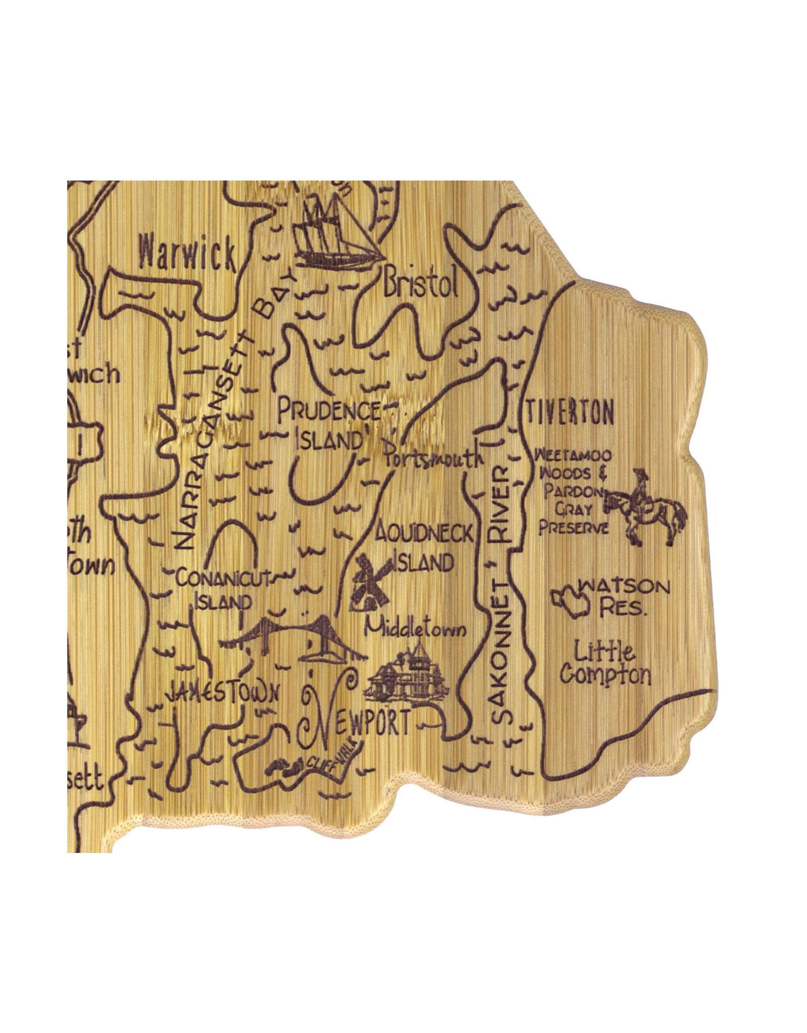 Destination Rhode Island Cutting Board