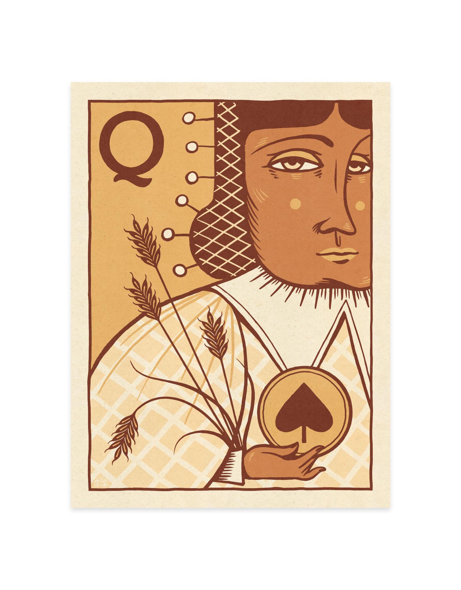 Queen of Spades Print